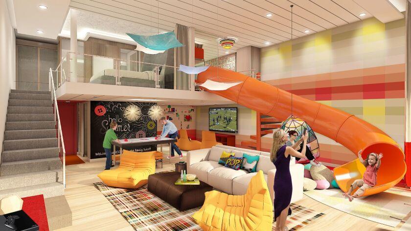 Royal Caribbean, family Suite.