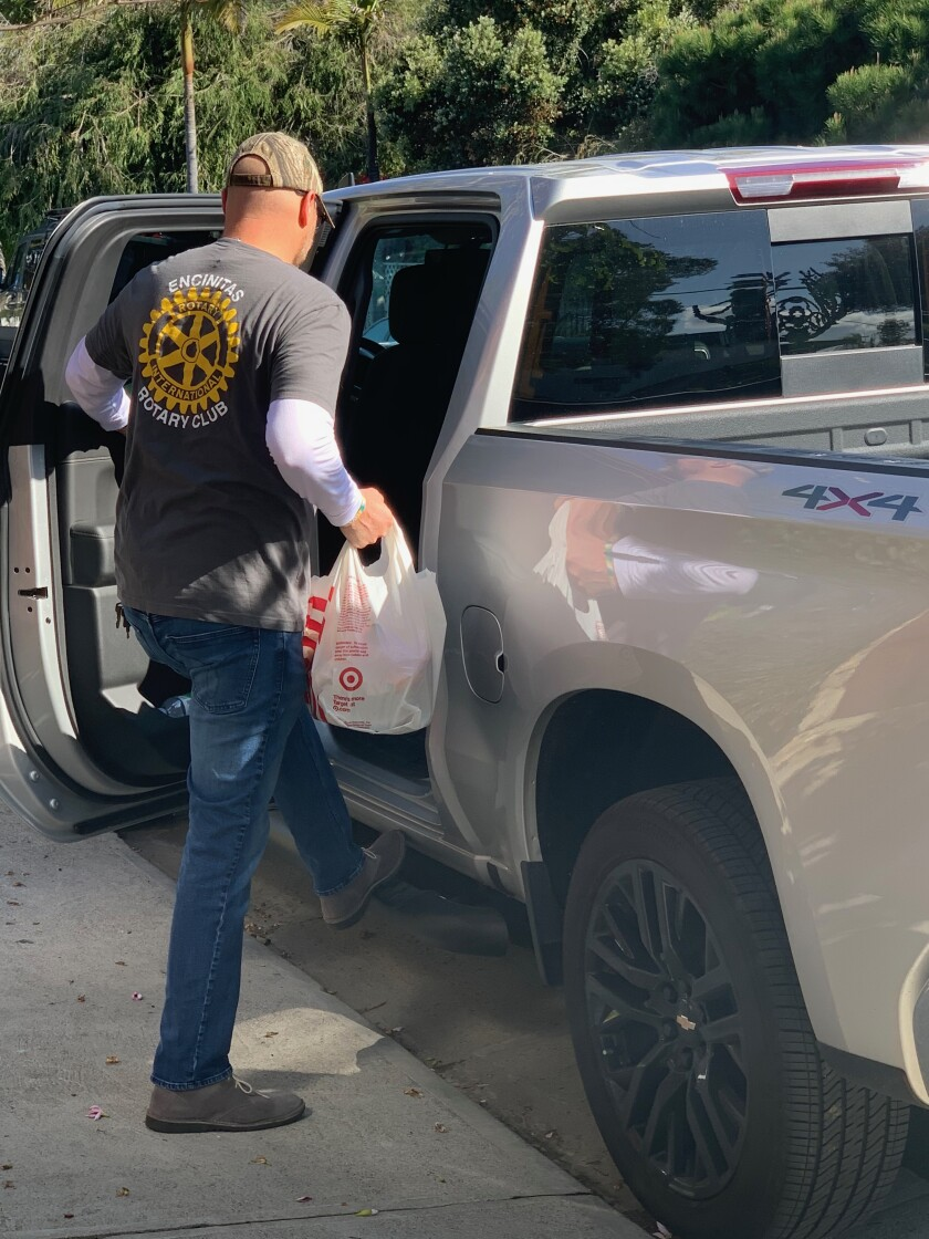 """The """"Encinitas Rotary's Home Team"""" is offering to help any senior citizen in need of groceries, prescriptions, food delivery or other tasks."""