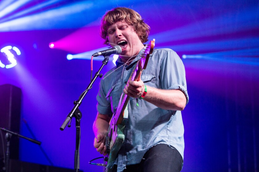 L.A.-based rocker Ty Segall, seen performing during the Bonnaroo festival in Tennessee in June, is on the FYF Fest lineup.