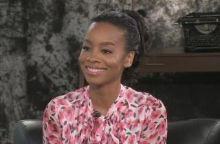Anika Noni Rose talks about feeling the spirits on set during the filming of the new 'Roots'
