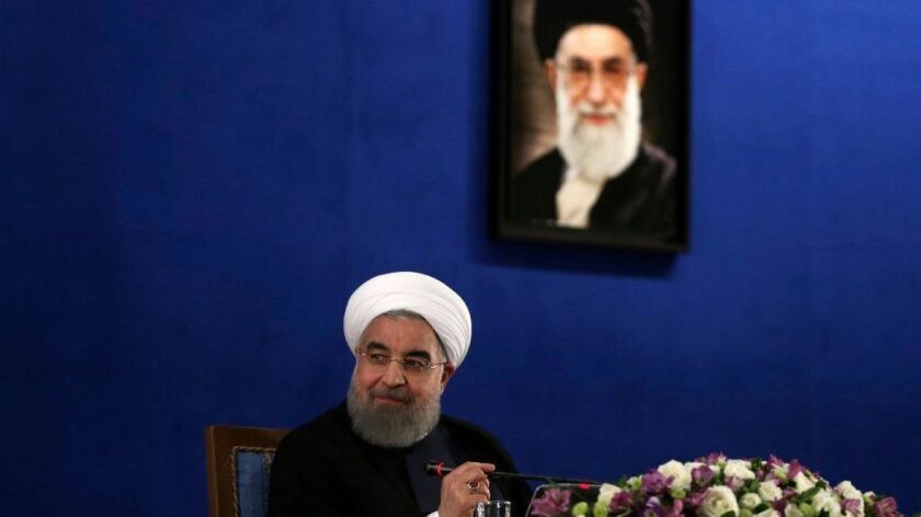 The agenda of newly reelected Iranian President Hassan Rouhani could hinge on the process to replace the ailing Supreme Leader Ayatollah Ali Khamenei, pictured.