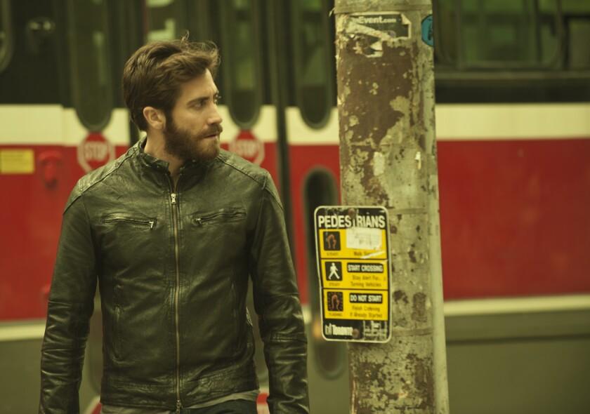 """Jake Gyllenhaal in the movie """"Enemy."""""""