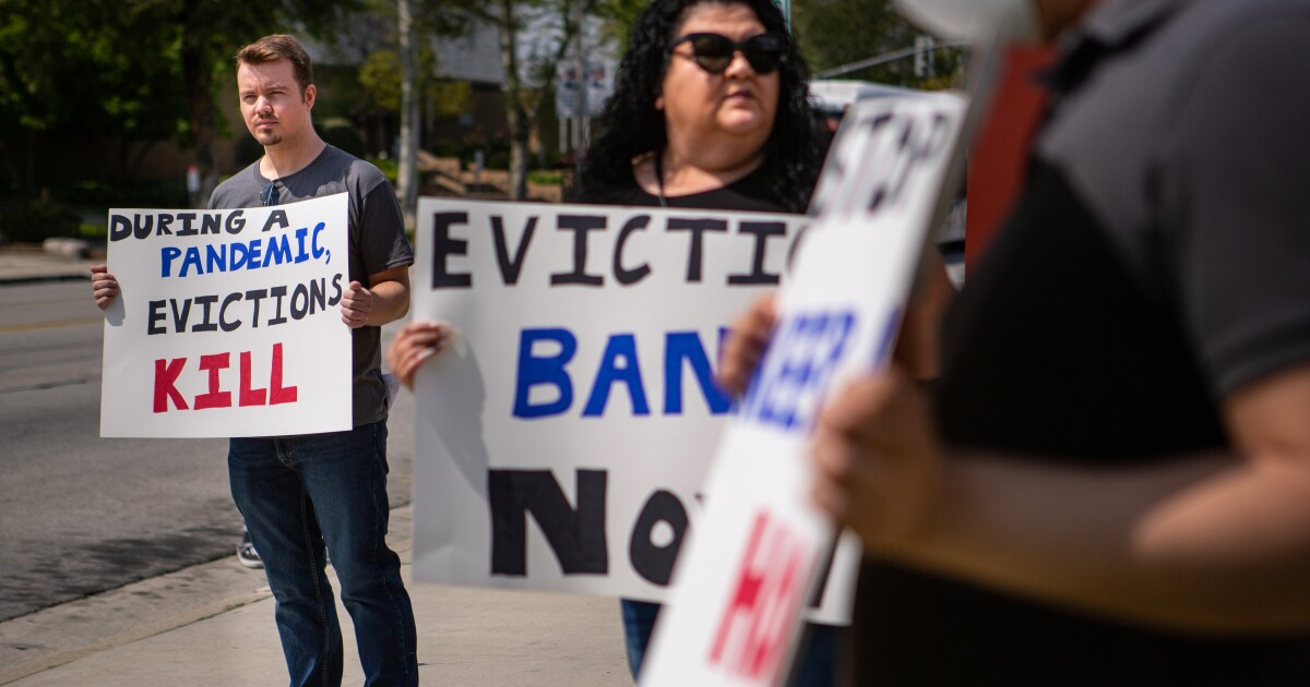 If eviction cliff hits California, mass homelessness is next