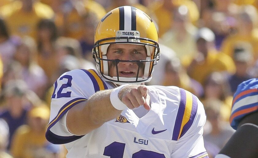 Former LSU quarterback Jarrett Lee agreed to a free-agent contract with the Chargers after the draft.