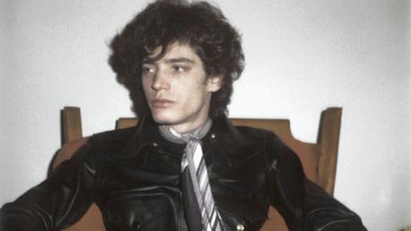 "Robert Mapplethorpe in 1972, from the documentary ""Mapplethorpe: Look at the PIctures."""