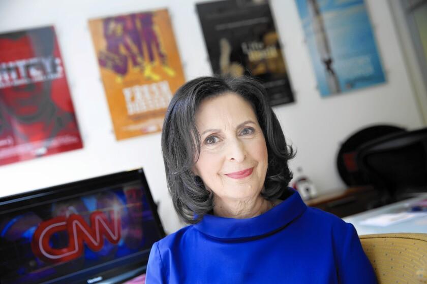 Amy Entelis at CNN's New York headquarters.