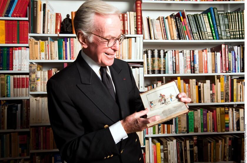 Jacobo Zabludovsky, periodista y locutor, se inició en 1946 como redactor de noticiarios en la radio.
