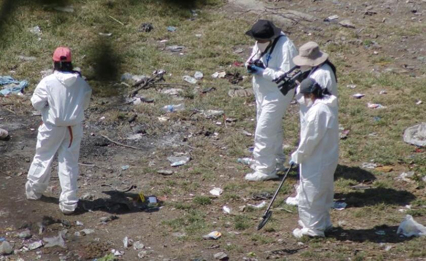 La división científica de la Policía Federal de México comenzó hoy en 16 estados la toma masiva de muestras de ADN de las personas que buscan a sus familiares desaparecidos, informaron las autoridades. EFE/ARCHIVO