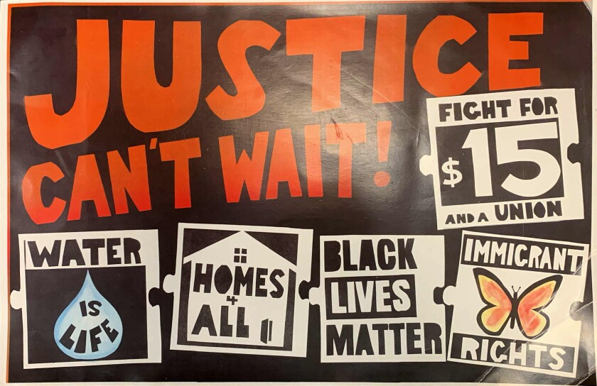 Students were illegally punished for Black Lives Matter posters, ACLU says