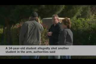 Dispute between two students leaves 1 shot at Palmdale high school