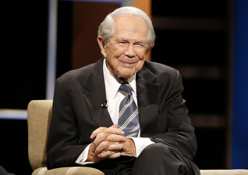 Controversial Rev. Pat Robertson urges followers to consider how much money the Saudis will buy in U.S. weaponry before holding them accountable for allegedly participating in the murder of a Washington Post reporter.