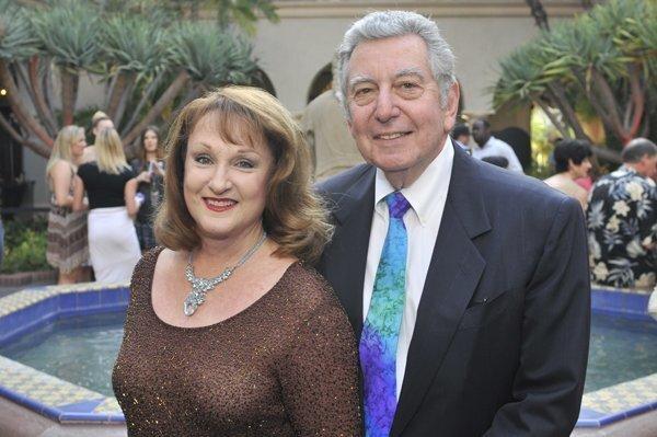 Honorary co-chairs Alan and Louarn Sorkin