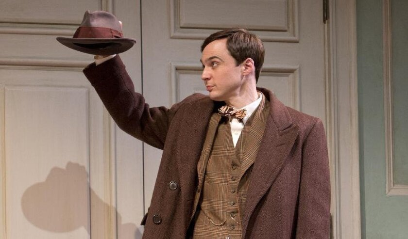 """University of San Diego grad Jim Parsons (pictured in the Broadway production of """"Harvey"""") could be in the running for the lead-actor category when the Tony Award nominations are announced Tuesday."""