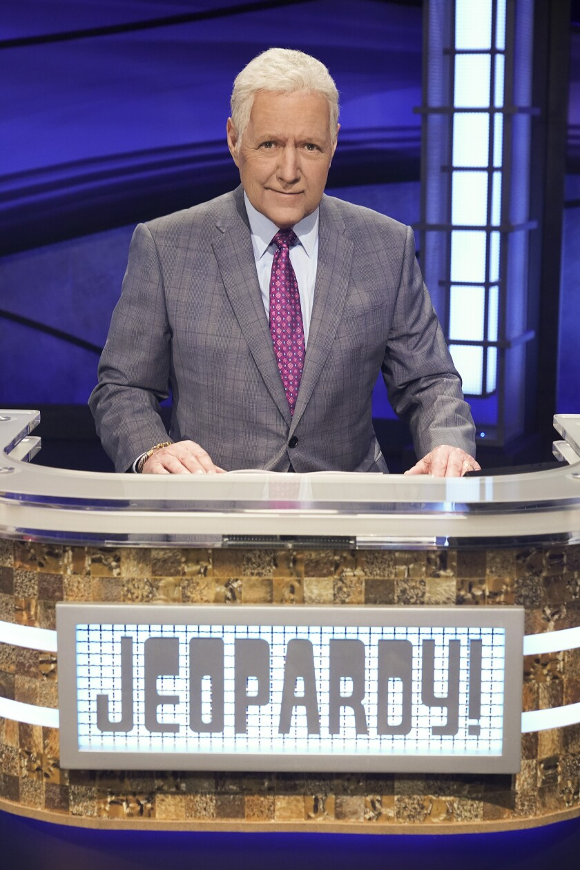Alex Trebek's upcoming memoir will be published by Simon & Schuster on July 21.