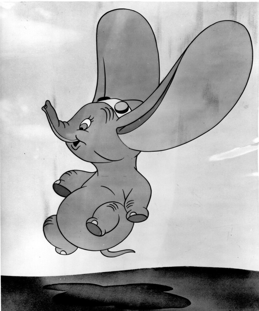 ET.1129.DUMBO.FILE–– The famous Disney character, DUMBO.