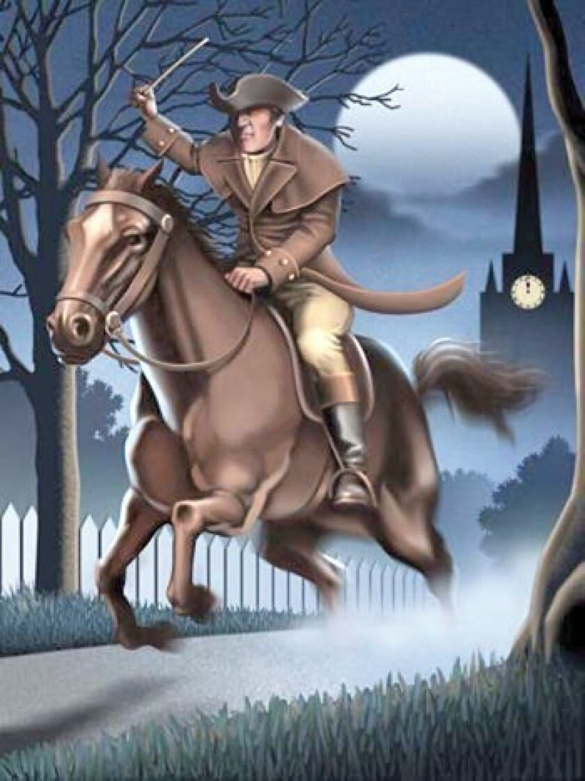 This year's theme is Paul Revere's famous ride. Photo: Courtesy