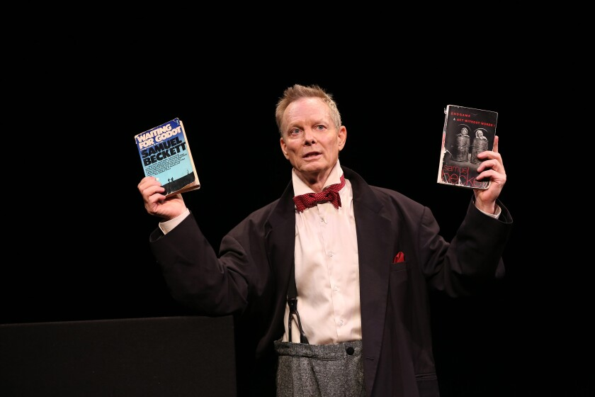 "Bill Irwin in ""On Beckett"""