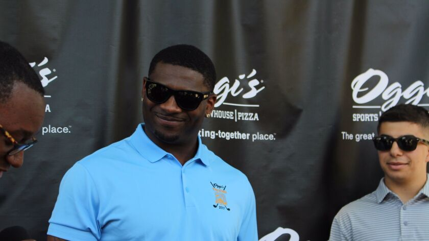 LT will be inducted into the NFL Hall of Fame on Aug. 5.