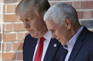 Who is Donald Trump's running mate Mike Pence?
