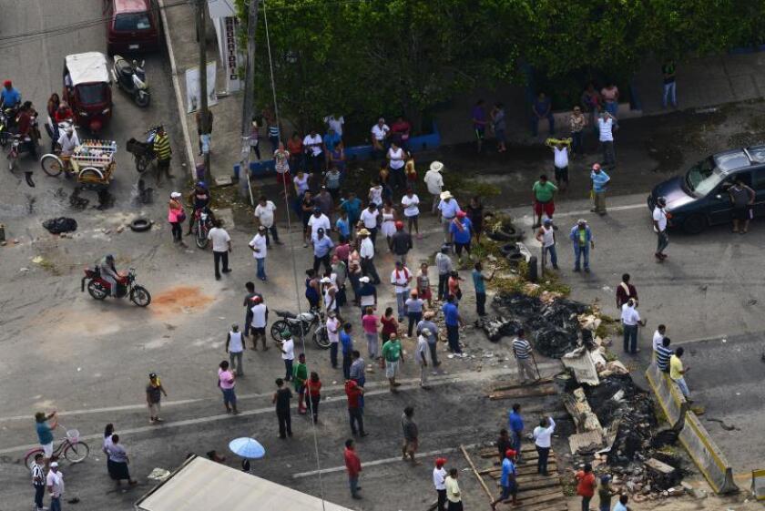 Entra en vigor ley que limita protestas en el estado mexicano de Tabasco