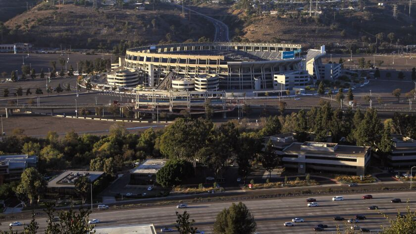 SDCCU Stadium site in Mission Valley