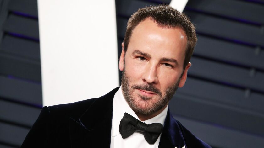 Tom Ford at Vanity Fair's Oscar party in Beverly Hills last month.