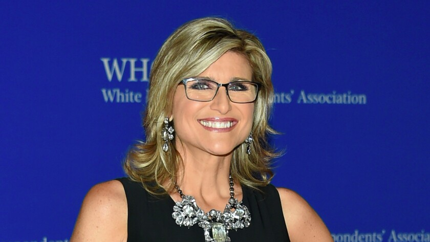 Ashleigh Banfield at the White House Correspondents Assn. dinner on April 30, 2016.