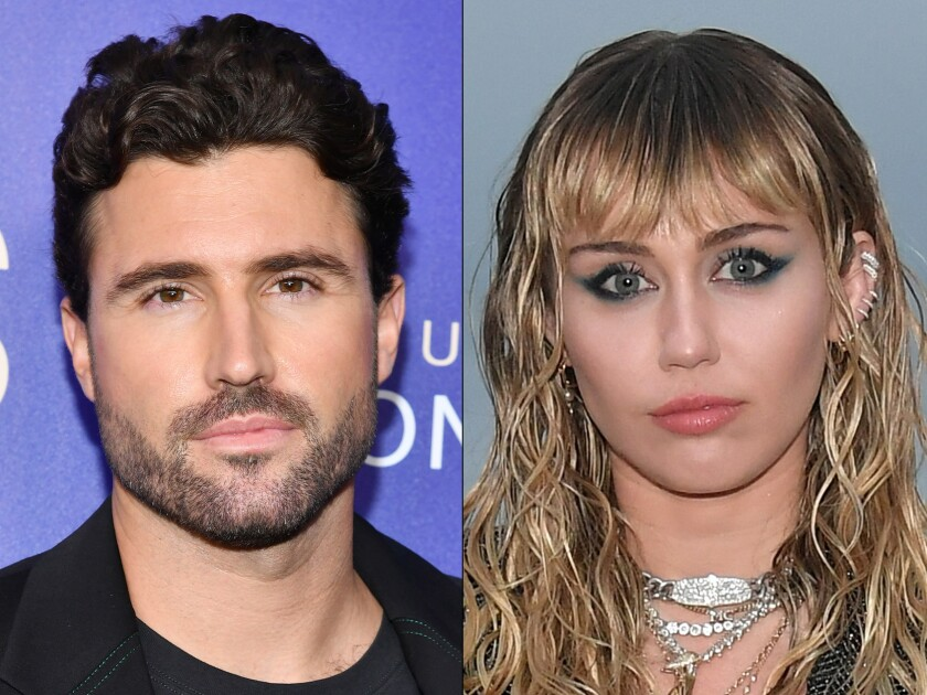 Brody Jenner and Miley Cyrus