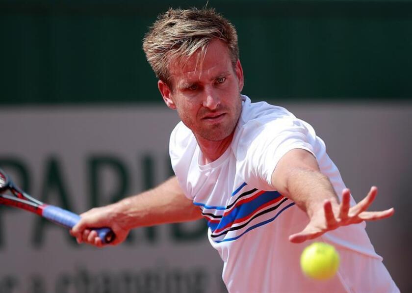 En la imagen, el tenista alemán Peter Gojowczyk. EFE/Archivo