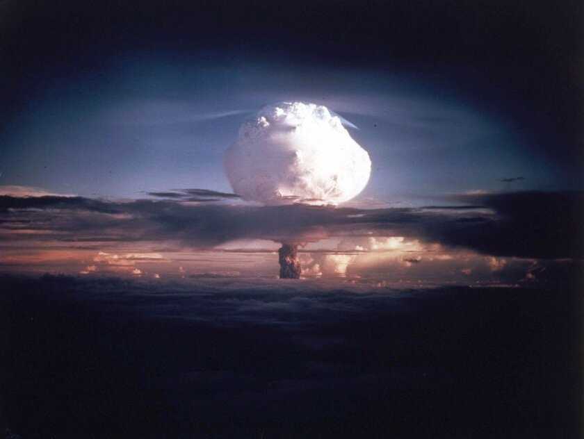 He saw a Marshall Islands nuclear bomb test up close. It's haunted him since 1952