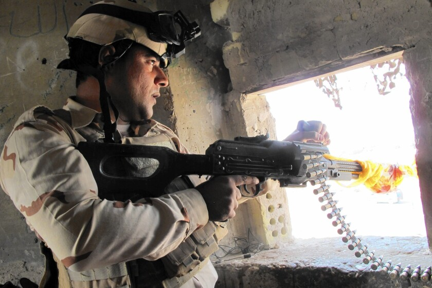 Iraqis keeping control of Abu Ghraib