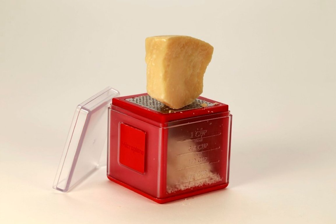 Kitchen Gadget Grate Collect And Measure With The Cube Grater