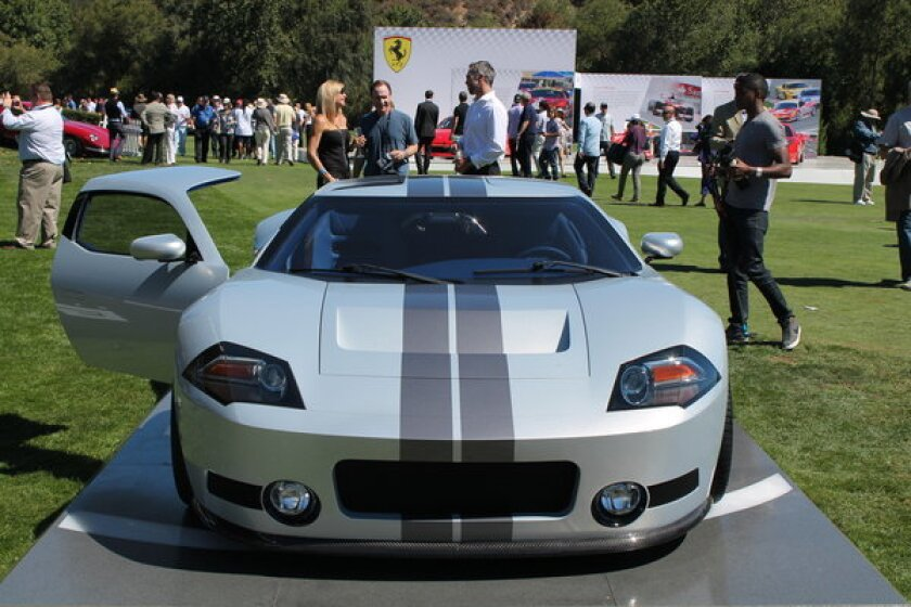 This Galpin GTR1 was just one of many cars on display at Friday's Quail Motorsports Gathering in Carmel, Calif.