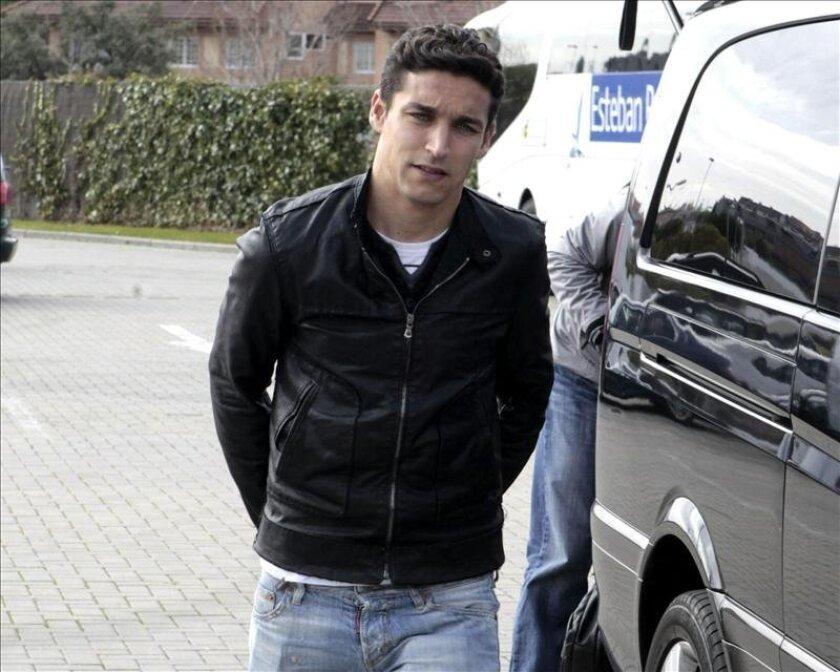 El jugador de la selección española de fútbol Jesús Navas. EFE/Archivo