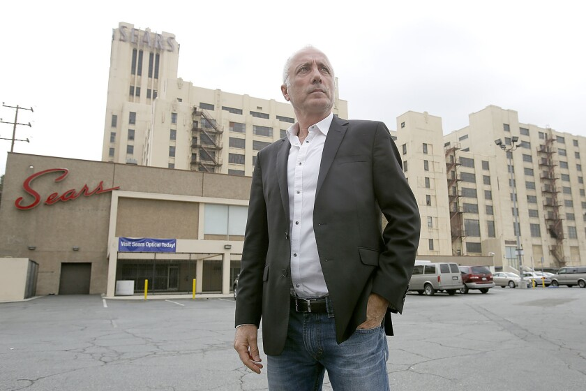 LOS ANGELES, CA -- NOVEMBER 20, 2013-- Izek Shomof purchased the historic Sears distribution center,