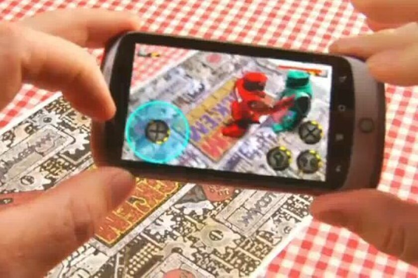 Qualcomm and Mattel will bring the Rock Em' Sock Em' game to life with Qualcomm's Mobile Augmented Reality Platform.