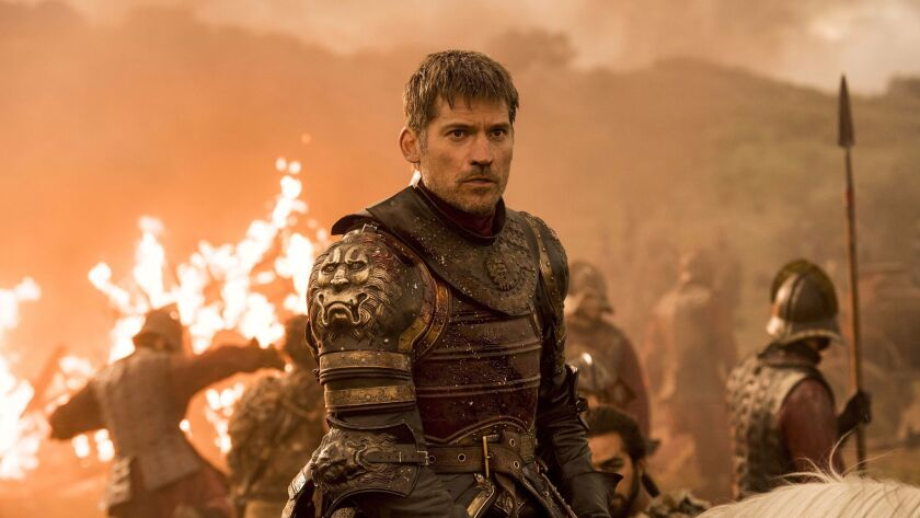CORRECTS AIR DATE TO AUG 6 - This image released by HBO shows Nikolaj Coster-Waldau as Jaime Lannist