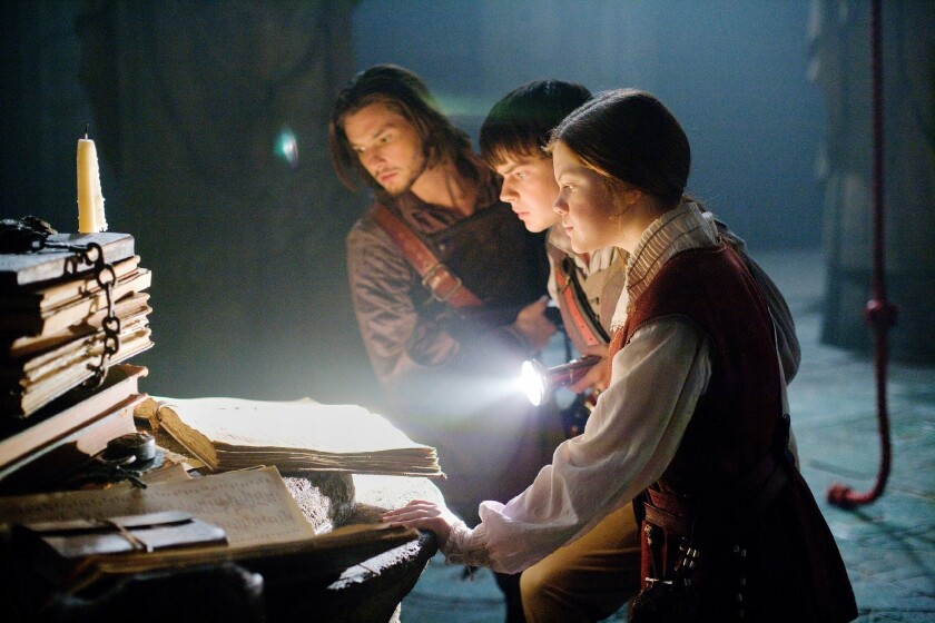 """A still from 2010's """"The Chronicles of Narnia: The Voyage of the Dawn Treader."""""""