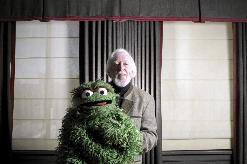 "Caroll Spinney, 80, played Oscar the Grouch on ""Sesame Street."""
