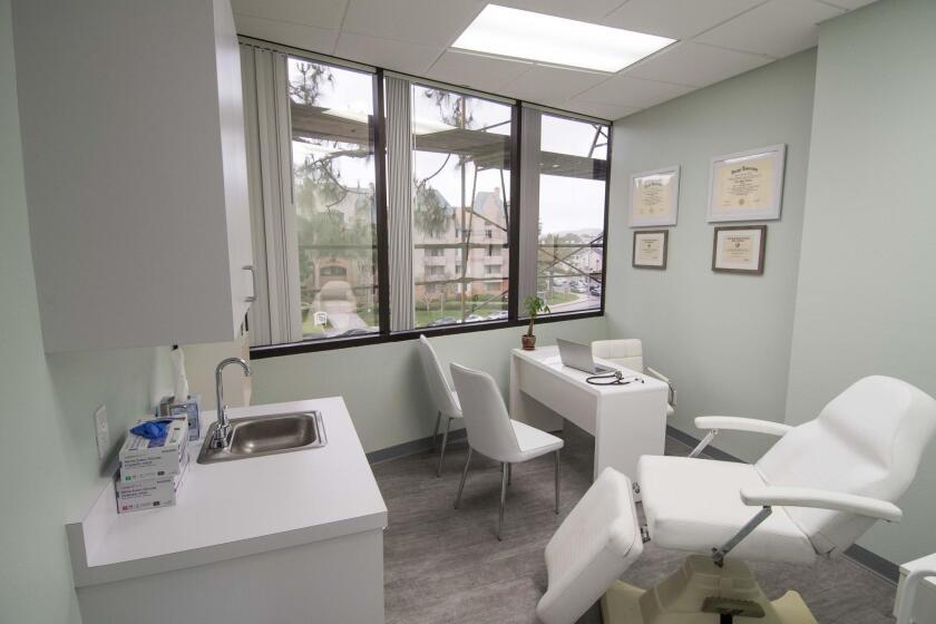 BioMed Health Center, 4130 La Jolla Village Drive, Suite 201, La Jolla. (858) 9640-441. biomedhealthcenter.com