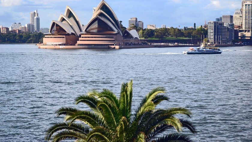 American Airlines starts its first nonstop service between Los Angeles and Sydney, Australia, home of the famed opera house, on Dec. 17. On the way to the land Down Under, you can sip a pricey bottle of wine in first class.