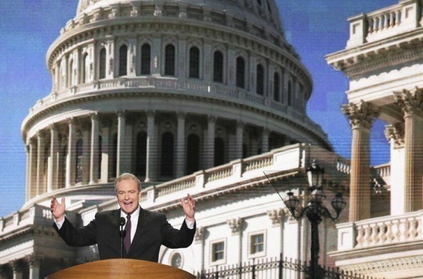 """Rep. Chris Van Hollen (D-Md.), who had brought the case against the Federal Election Commission, called the appellate court ruling """"a blow against transparency."""""""