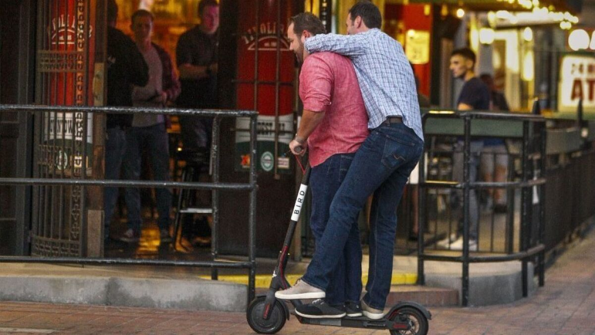 San Diego continues hands-off approach as electric scooter injuries