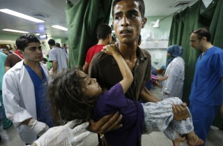 U.N. shelter in Gaza shelled, at least 15 dead