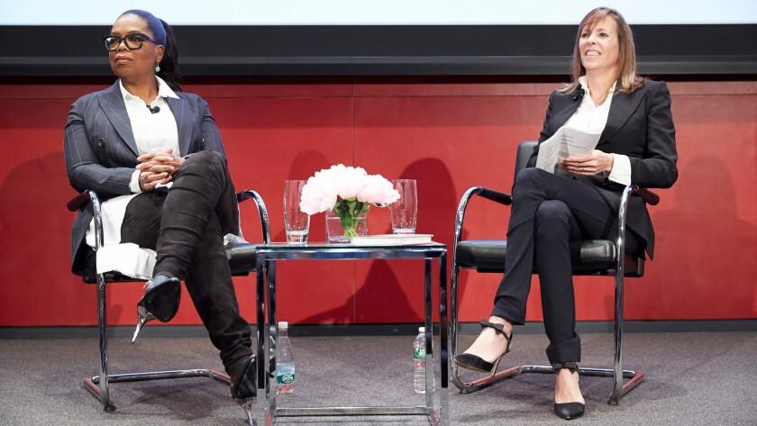 Oprah Winfrey and Lucy Kaylin