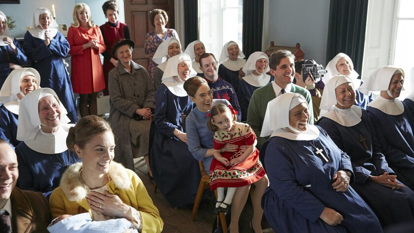 """Call the Midwife Holiday Special "" on PBS."