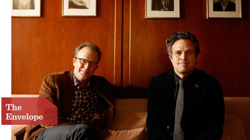 Tom McCarthy and Mark Ruffalo