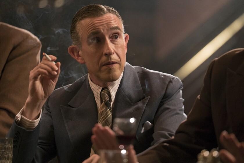 """El actor britanico Steve Coogan en una escena de """"Stan & Ollie"""", que se encuentra ya en las salas de cine."""