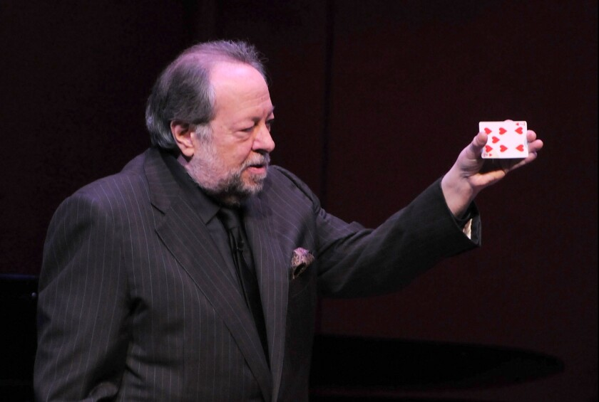 Ricky Jay, the master magician and frequent actor in David Mamet films, died Saturday at the age of 70.