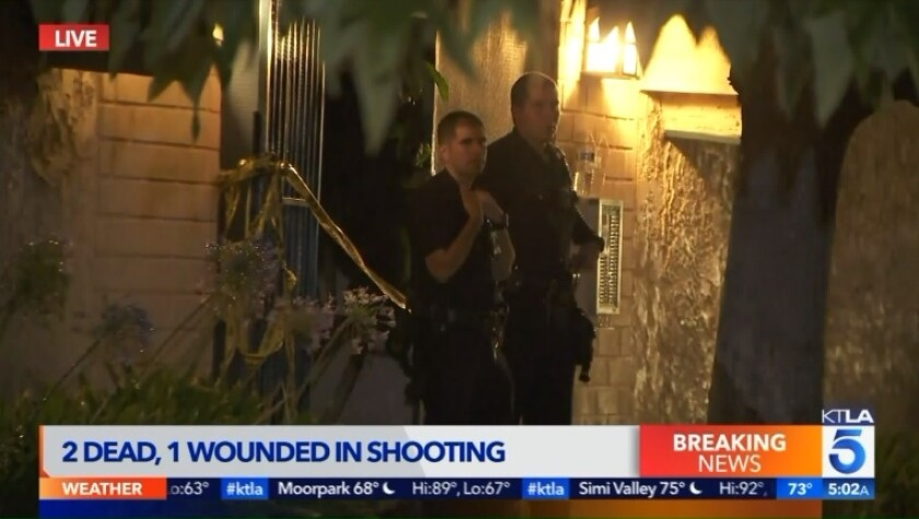 Triple shooting in Canoga Park